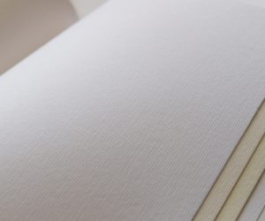 Svadobné oznámenia - papier Rives Linear Bright White