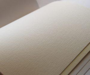 Svadobné oznámenia - papier Rives Linear Natural White
