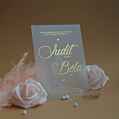 luxusne svadobne oznamenie