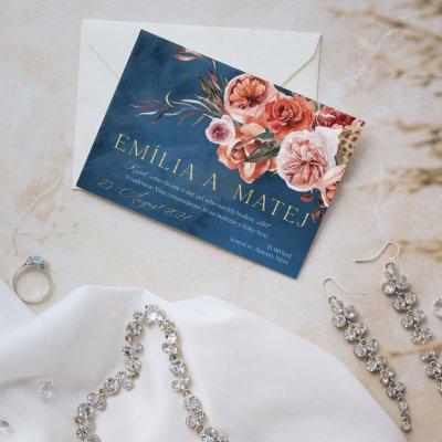 romanticke svadobne oznamenie